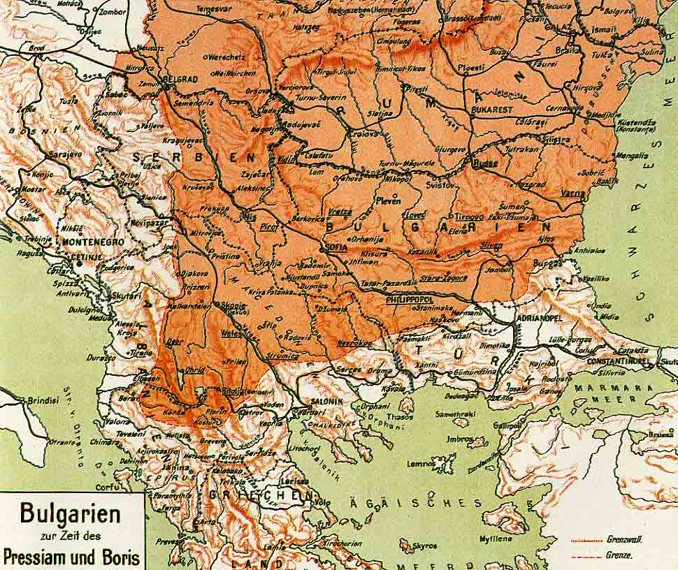 Kodeks Bulgaria Historical Maps