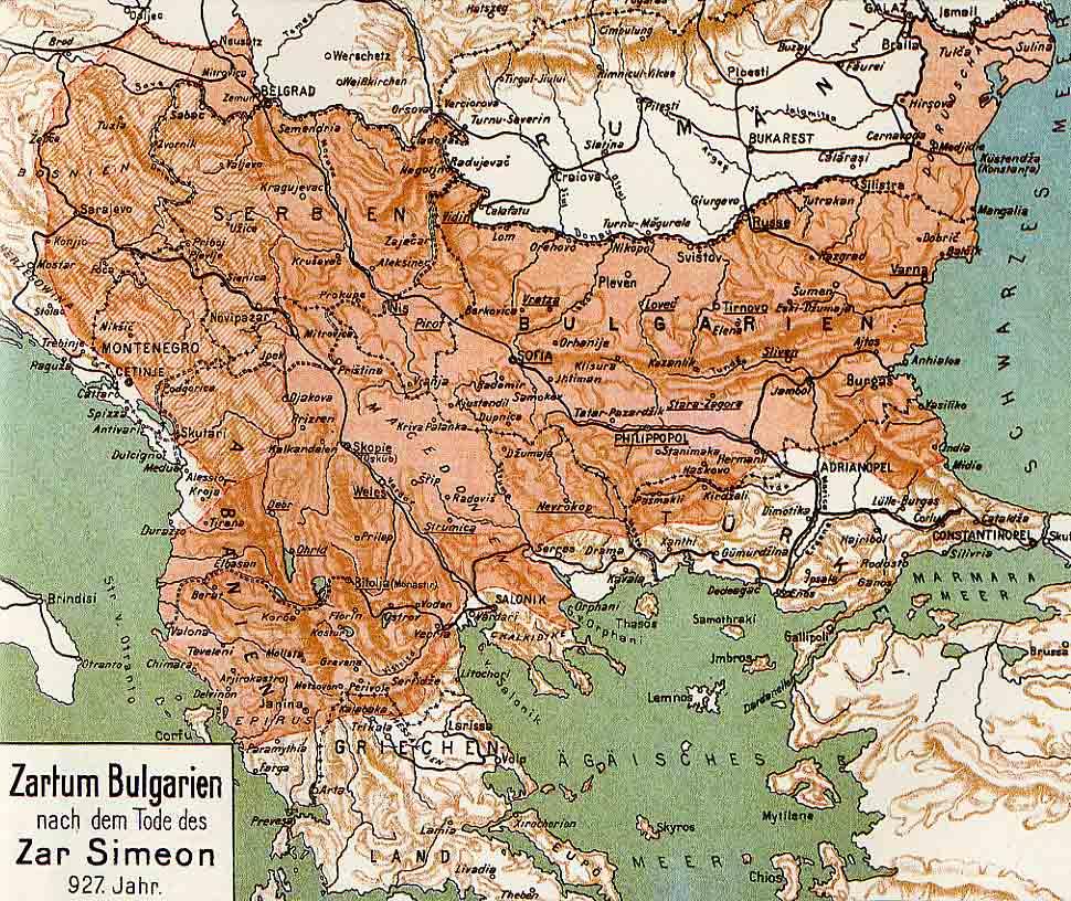 Karte Bulgarien.Kodeks Bulgaria Historical Maps
